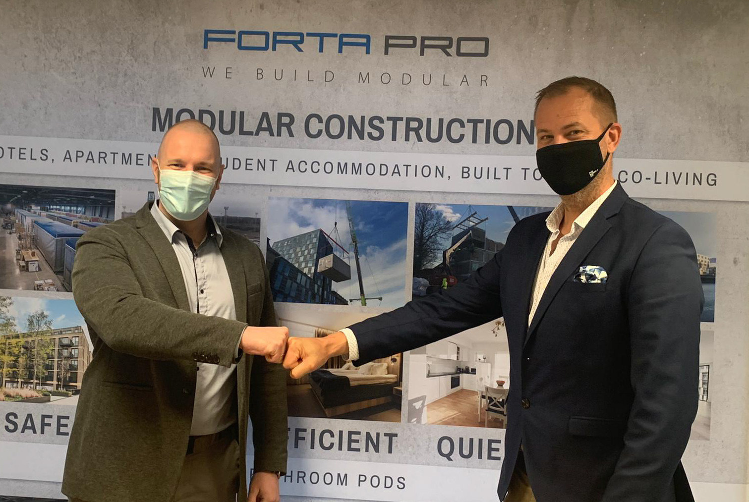 CONTRACT SIGNED! Forta PRO continues to develop advanced solutions for comfortable living!