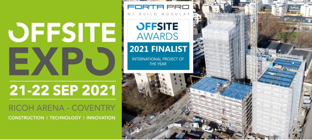 Forta PRO invites you to meet us at OFFSITE EXPO!