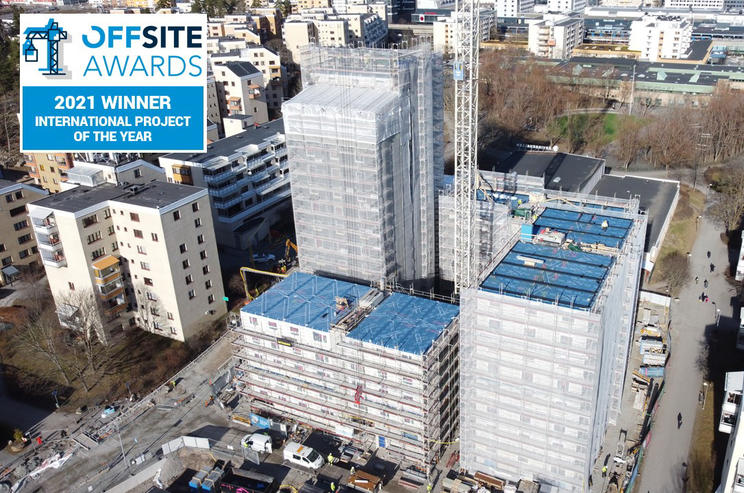 Forta PRO won the Prestigious International Offsite Project of the Year Award!