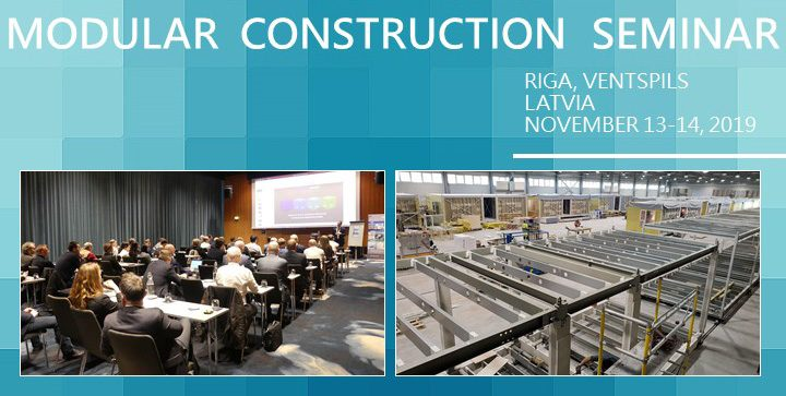 Forta PRO Modular Construction Seminar, November 13-14