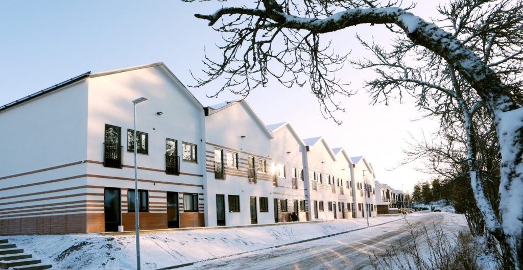 New Modular Rental Apartments in Sweden