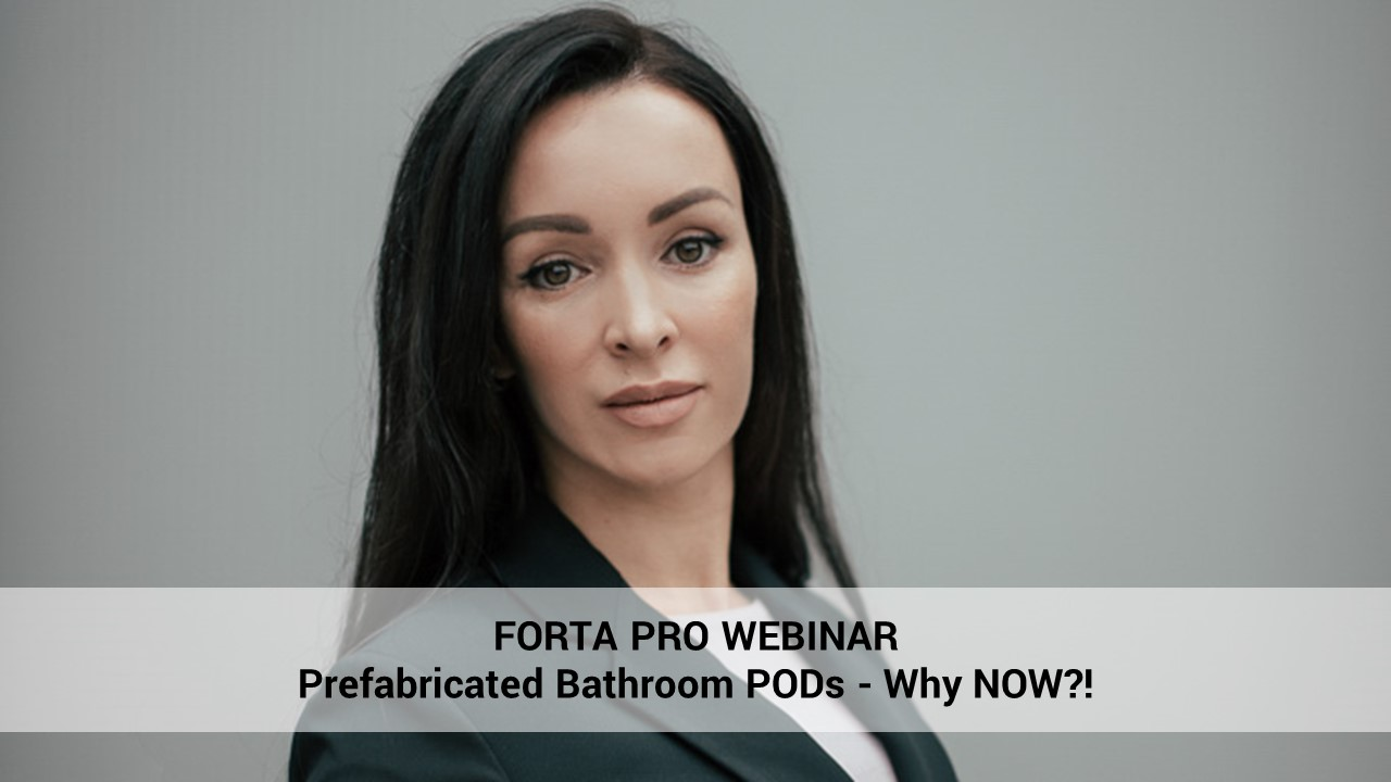 Prefabricated Bathroom PODs - Why NOW?!