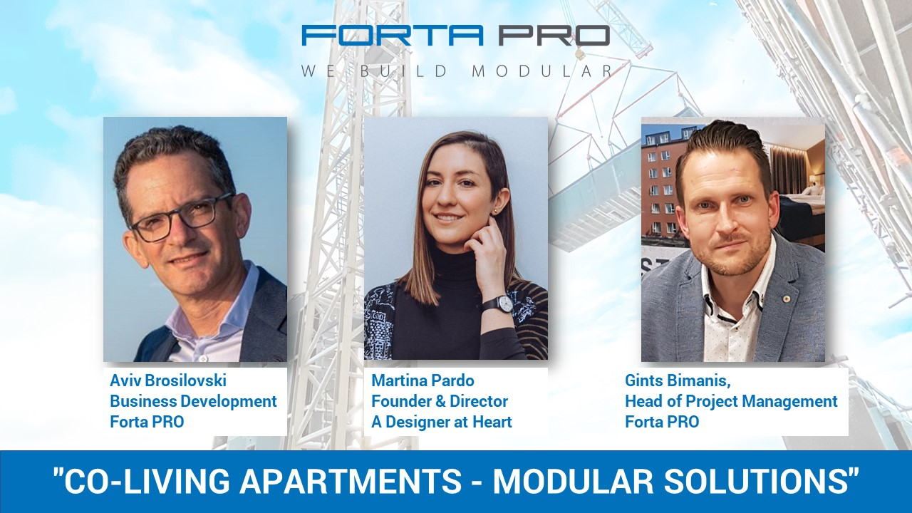 Forta PRO Co-Living webinar attracts more than 200 construction professionals!