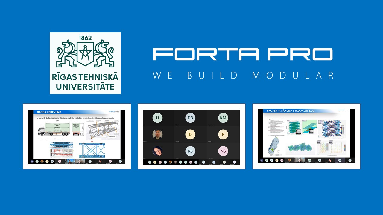 Forta PRO has launched cooperation with the Institute of Design Technologies of Riga Technical University.
