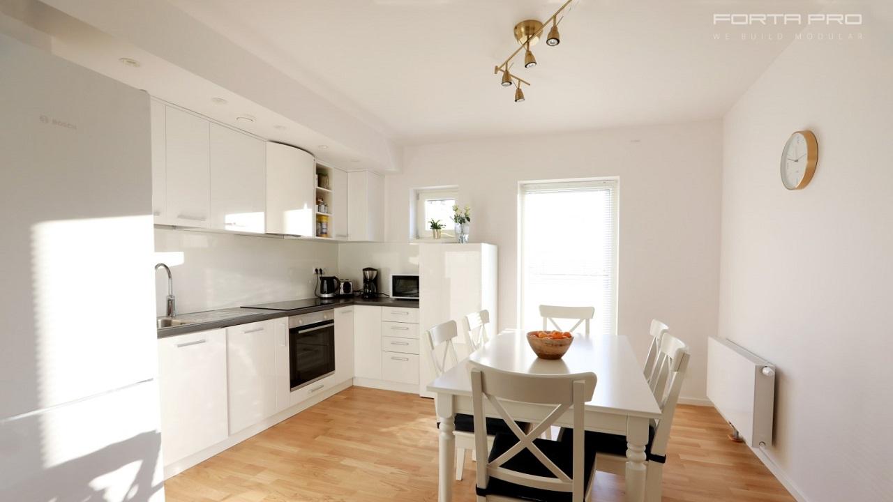 Generic Modular Apartment concept to revolutionize the Swedish market!